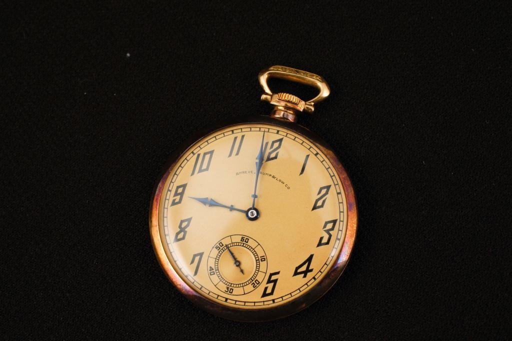 Patek Phillipe 18K Gold Pocket Watch
