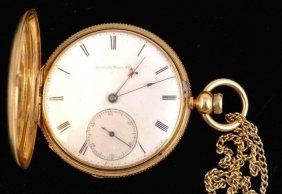 18k Gold American Watch Co. Pocket Watch