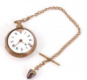 (18th C) Norton Of London Pocket Watch