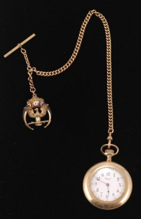 Regent Pocket Watch And Fob