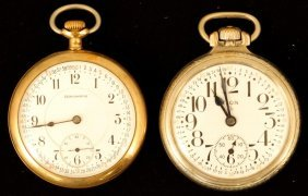 Elgin And Burlington Pocket Watches
