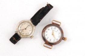 (2) Early (20th C) Ladies Wrist Watches
