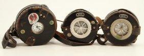 (3) Detex Corporation Watchman's Clocks