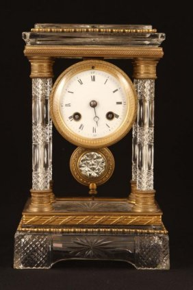 1889 L. Marti & Co. Tiffany Mantle Clock