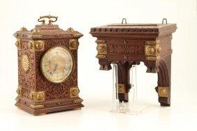 Winterhalder & Hofmeier Black Forest Shelf Clock