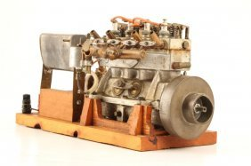 Hand Machined Gas Powered Working Engine