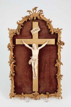 (18th C) French Ivory Crucifix