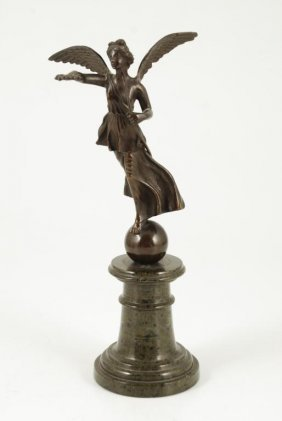 (20th C) European School Winged Victory Bronze