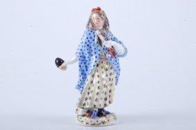 (18th C.) Meissen Masquerade Figurine