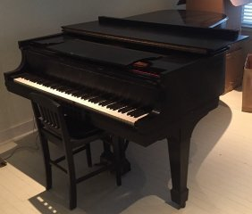 A Steinway & Sons Model B Grand Piano