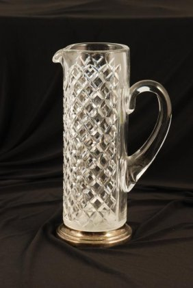Hawkes Sterling Silver Martini Pitcher