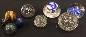 Six (20thc ) Paperweights