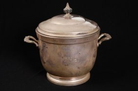 Poole Sterling Silver Ice Bucket