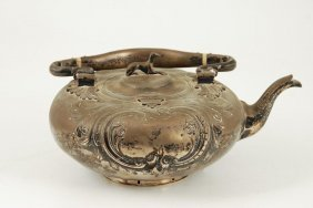 Warren Silver Co Ny Silver Plated Teapot