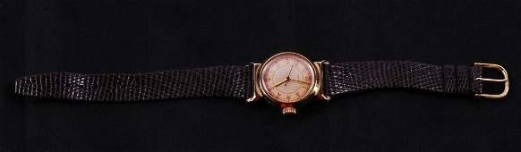 14K Gold Movado Wrist Watch