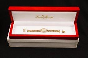 Lucien Picard 14k Gold & Diamond Watch