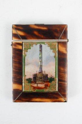 Calling Card Case With Washington Monument