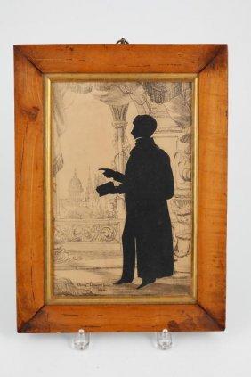 Augustin Edouart 1836 Full Length Silouette