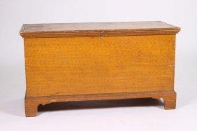19th Century Grained Blanket Box
