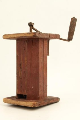 (18thc) Country Primitive Grinder
