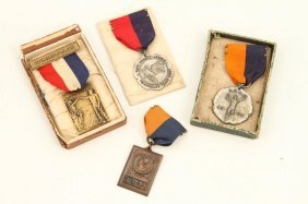 (4) Medals Circa 1920