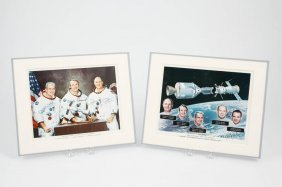 Crews Of Apollo-soyuz Mission Photos