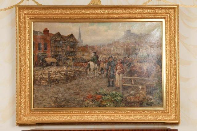 Henry John Yeend-King (1855-1924) Oil