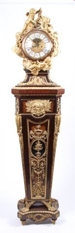 19th c Louis XVI style Pedestal Clock