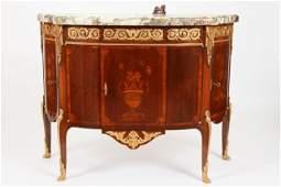 19th c Fine Louis XV-XVI Transitional Commode