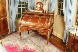 Very Fine Louis XV Style Bureau a Cylindre