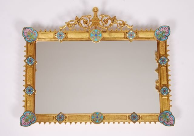 19th c French Victorian Style Mirror