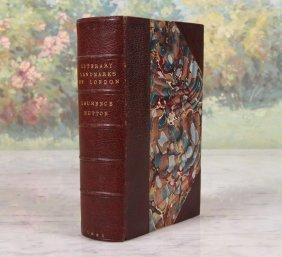 Literary Landmarks Of London Hutton, 1885