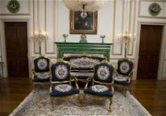 Louis XV Style Parlor Suite