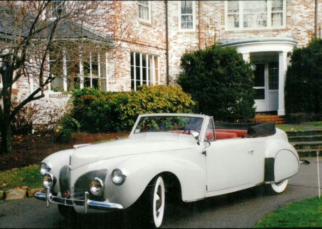 1940 LINCOLN ZEPHYR CONTINENTAL CONVERTIBLE
