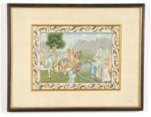 Early 20th c PERSIAN PAINTING