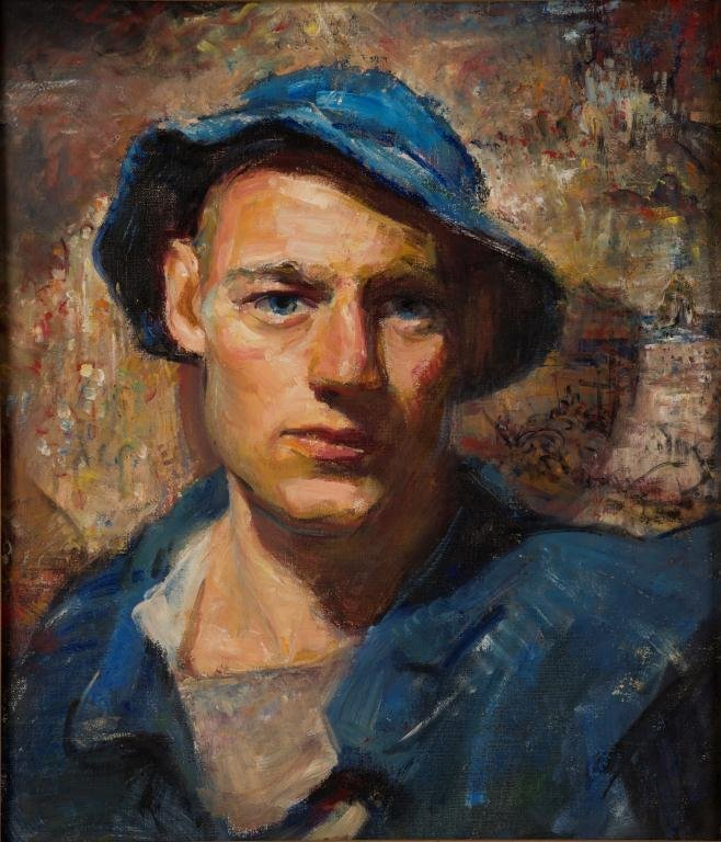 JOHN W. HATCH (1919-1998) Self Portrait