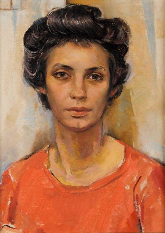 JOHN W. HATCH (1919-1998) The Artist's Wife
