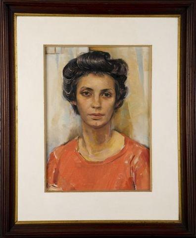 JOHN W. HATCH (1919-1998) The Artist's Wife - 2