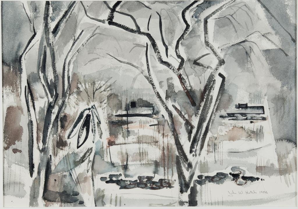 JOHN W. HATCH (1919-1998) Metropolitan Museum Expo
