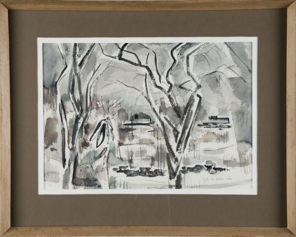 JOHN W. HATCH (1919-1998) Metropolitan Museum Expo - 2