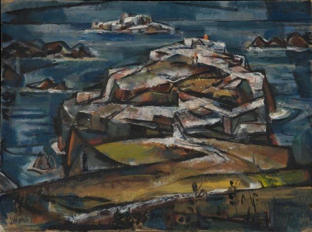 JOHN W. HATCH (1919-1998) Margaret Brown Gallery
