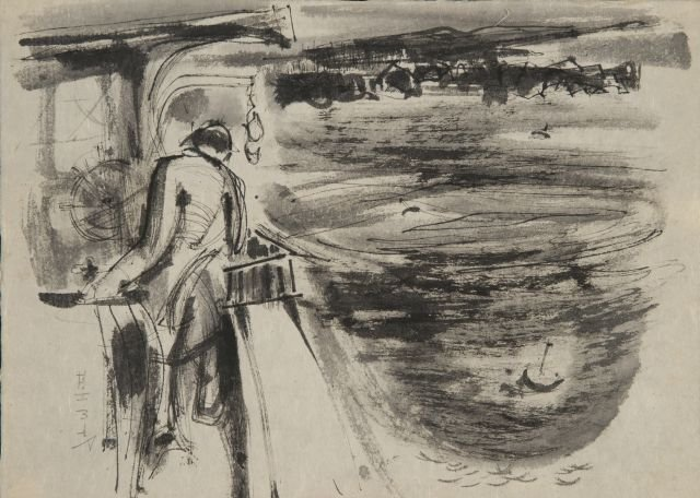 JOHN W. HATCH (1919-1998) Maine Lobsterman