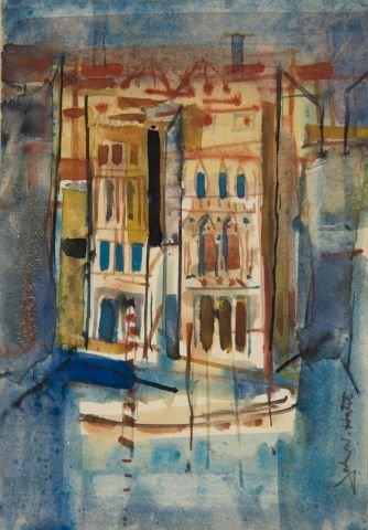JOHN W. HATCH (1919-1998) Venice
