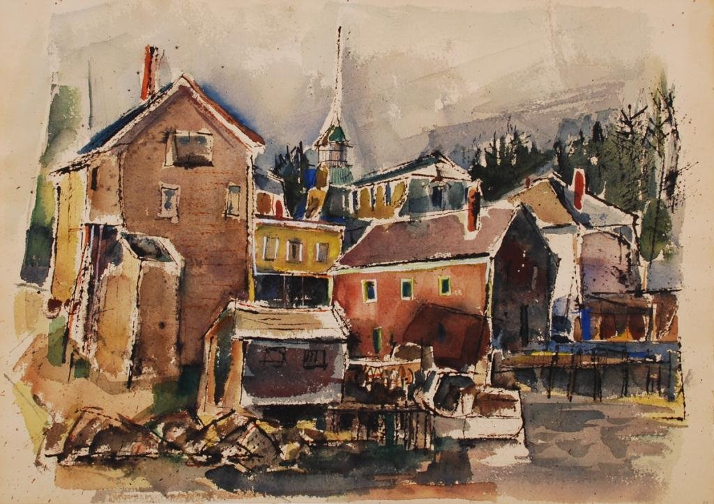 JOHN W. HATCH (1919-1998) Portsmouth, NH