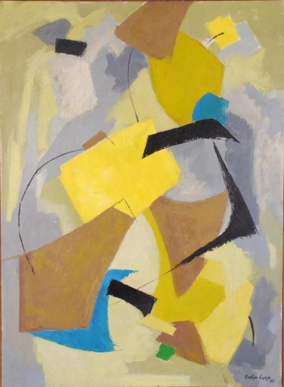 AMERICAN SCHOOL (20th c) Abstraction