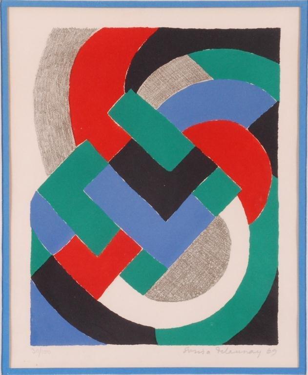 SONIA DELAUNAY-TERK (1885-1979)