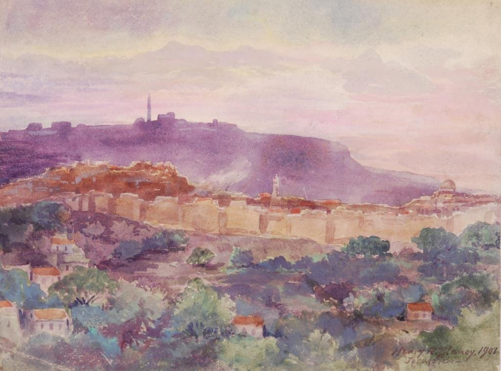 HENRY ROBINSON BLANEY (1855-1933) JERUSALEM
