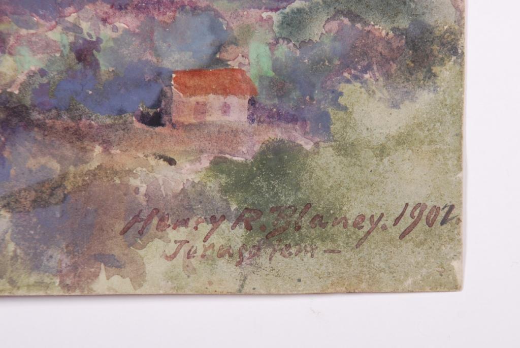 HENRY ROBINSON BLANEY (1855-1933) JERUSALEM - 4