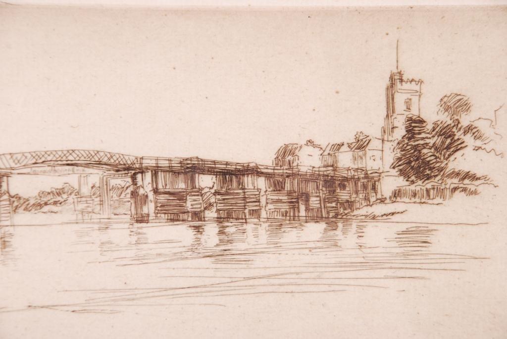 JAMES ABBOTT MCNEILL WHISTLER (1834-1903) - 3