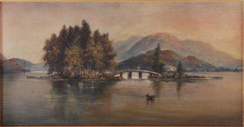 AMERICAN SCHOOL (19th c) Lake George